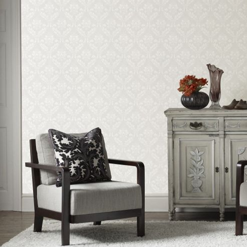 Superfresco Paintable Classics Medium Damk Wallpaper