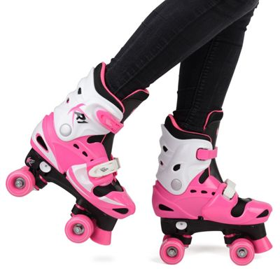 Loch Girls' Adjustable Roller Skates UK 1-2