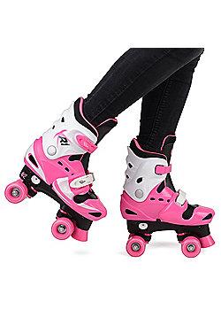 Loch Girls' Adjustable Roller Skates UK 1-2