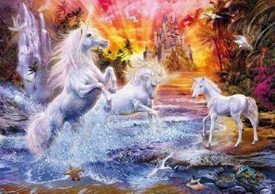 Wild Unicorns - 1500pc Puzzle