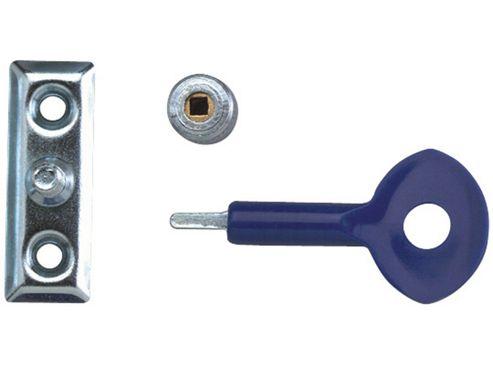 Yale Locks P111 Window Staylocks Satin Chrome Finish Pack of 2