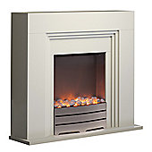 York Ivory Fireplace Suite