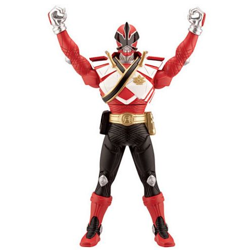 Power Rangers Super Samurai Chest Morphin Figure - Red