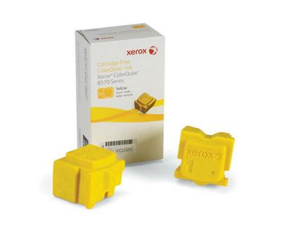 Xerox Ink Sticks for ColorQube 8570 Printers (2 Sticks) - Yellow