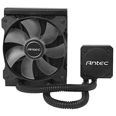 Antec H2O Kuhler H600 120 mm Pro Water Cooling Kit - Black/Blue