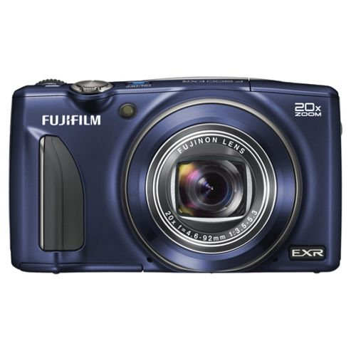 Fuji F900 Digital Camera, Blue, 16MP, 20x Optical Zoom, 3