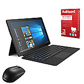 "Linx 12X64 12.5"" - 2 in 1 Tablet with Keyboard Intel Atom x5-Z8350 4GB 64GB Win10 with Internet Security & Mouse"