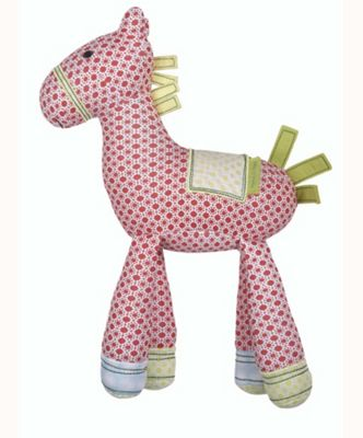 Mamas & Papas - Gingerbread - Soft Chime Toy Horse
