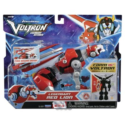 Voltron  Combi Red Lion Action Figure