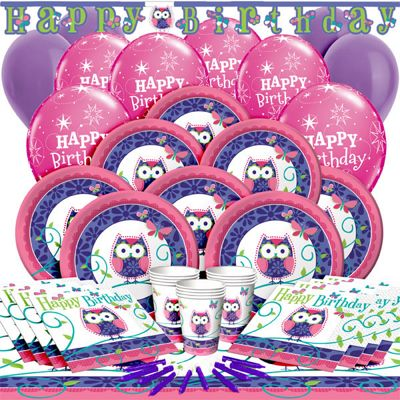 Owl Pal Deluxe Party Pack for 16