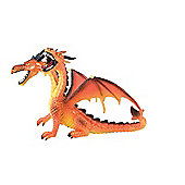 Fantasy - Orange 2 Headed Dragon Figurine - 3.5' - Bullyland