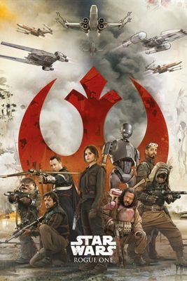 Star Wars Rogue One Rebels Poster 61x91.5cm