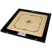 World Championship Carrom Board Synco Signature - 24mm thick Playing Surface, Weighs 18kg