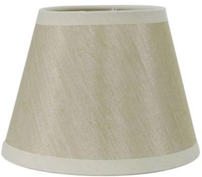 Cream 6 Inch Linen Shade (Clip Fitting)