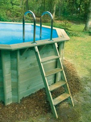 Doughboy Octagonal Wooden Pool 4.4m