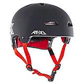 REKD Elite Icon Helmet - Black/White - Medium (56-57cm)