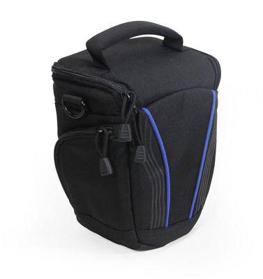 Black Camera Bag For The Pentax K-50 SLR Camera