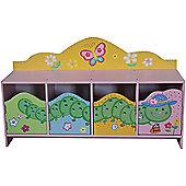 Liberty House Butterfly Garden 4 Door Cabinet