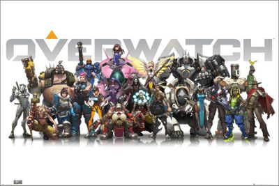 Overwatch Characters Poster 61 x 91.5cm