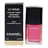 Chanel Le Vernis Pink Flamingo Nail Polish 544 Hyperrose Glass