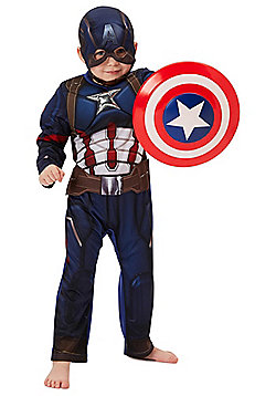Marvel Captain America Dress-Up Costume - Blue