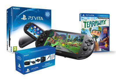 PS Vita Slim (Tearaway And Playstation Vita Starter Kit)