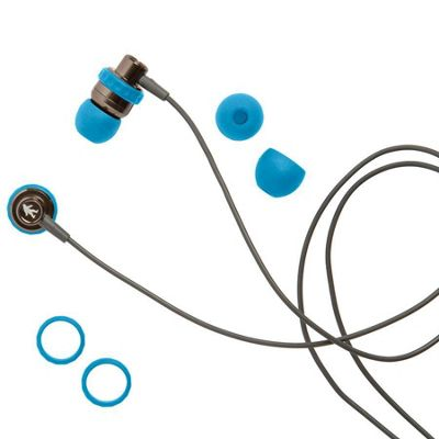 Outdoor Tech Minnows Earbuds - Electric Blue