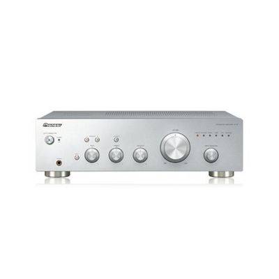 Pioneer 50W Stereo Amplifier with Direct Energy Design Silver