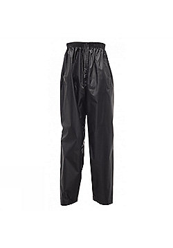 Regatta Kids Stormbreak Waterproof Over Trousers - Black