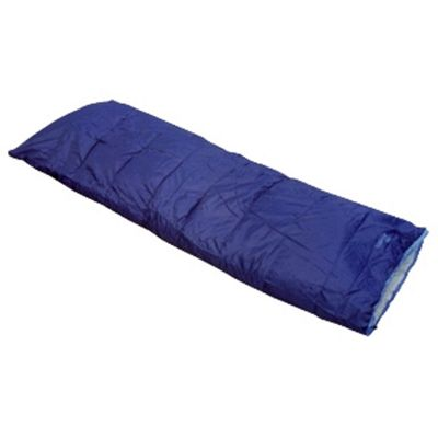 New Confidence Camping Envelope Sleeping Bag Red 200Gsm