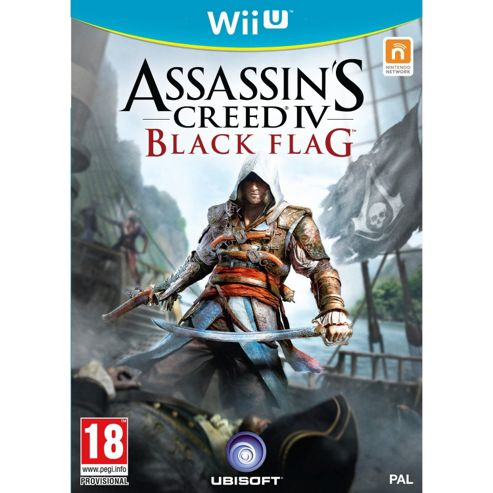 Assassins Creed 4 Black Flag Wii U