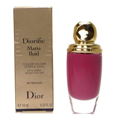 Dior Diorific Matte Fluid Lip and Cheek Velvet Plum Colour 003 Treasure