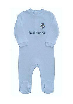 Real Madrid Baby Kit Sleepsuit - 2015 16 Season - White 1c3eafcd6
