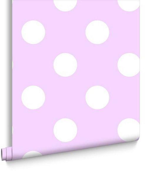 Dotty Wallpaper - Pink