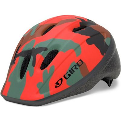 Giro Rodeo Kids Helmet Glowing Red Camo