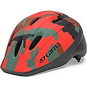 Giro Rodeo Kids Helmet Glowing Red Camo