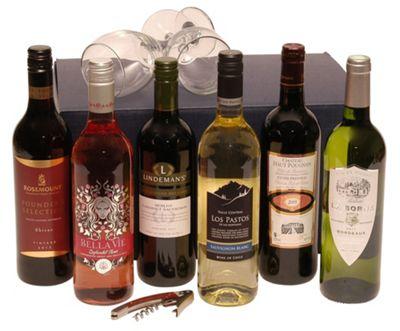 Six Bottle Selection