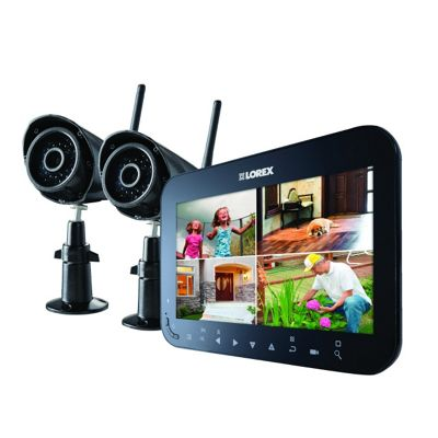 Buy Lorex 4 Channel Wireless CCTV Kit with 2 Cameras from our