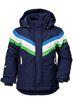 Didriksons Safsen Kids Ski Jacket - Navy - Navy