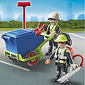 Playmobil City Action Sanitation Team