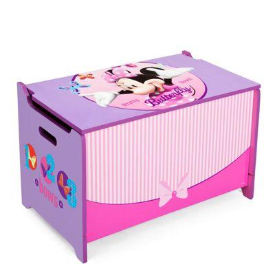 Delta Children Disney Minnie Mouse Toy Box