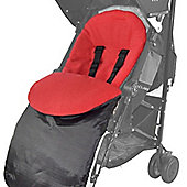 Footmuff For Mountain Buggy Duo/Duet/One/Jungle/Swift Red