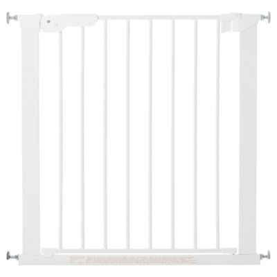 BabyDan Premier X Wide Safety Stair Gate, White