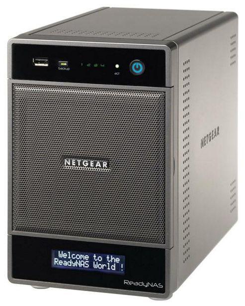 Netgear RNDU4220-100UKS ReadyNAS Ultra 4 - MM Desktop Storage System 4TB (2x2TB HDD)