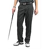 Woodworm Dryfit Flat Front Golf Trousers - Black