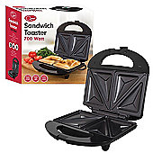 700w Black 2 Slice Sandwich Toaster Maker