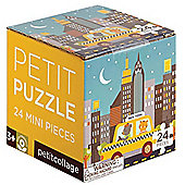 Petit Collage NYC Taxi Petit Puzzle