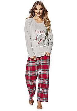 Me to You Tatty Teddy Christmas Pyjamas - Grey