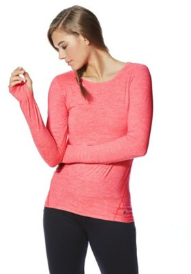 F&F Active Soft Touch Long Sleeve Top Coral XL
