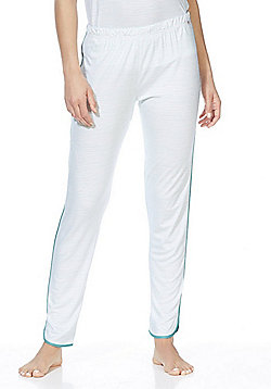 F&F Striped Lounge Pants - Turquoise
